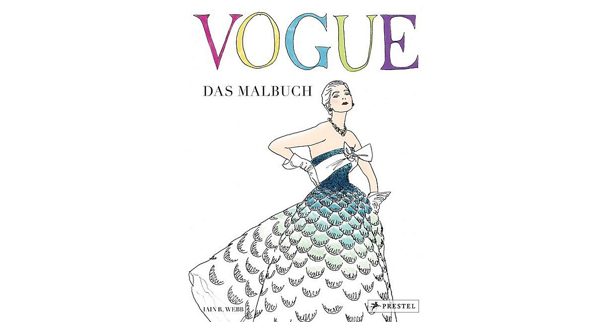 Buch - VOGUE - Das Malbuch