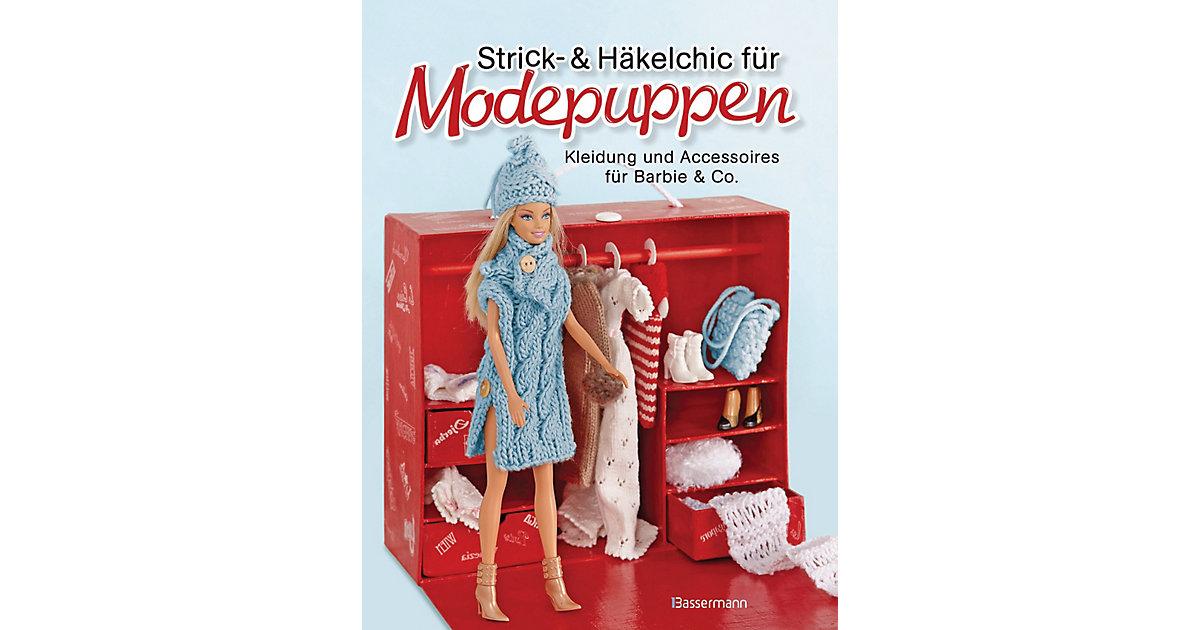 Buch - Strick- und Häkelchic Modepuppen. Kleidung und Accessoires Barbie & Co.  Kinder