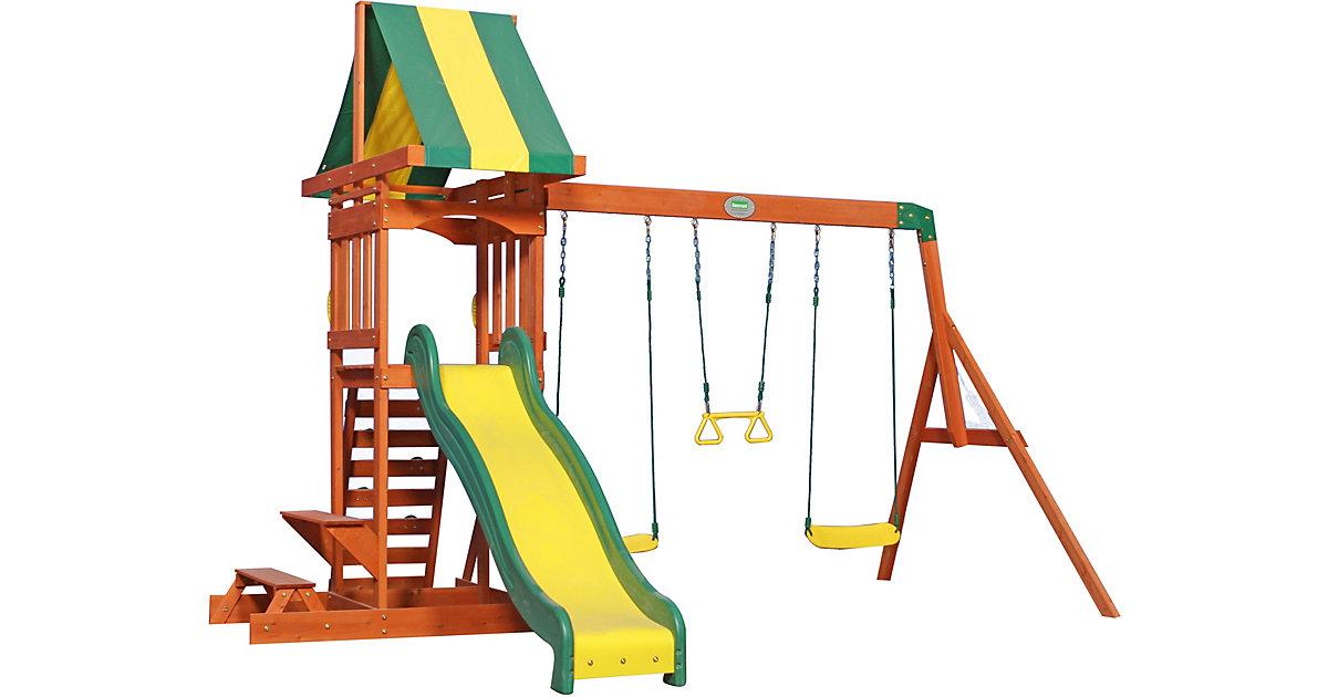 Sunnydale Spielturm (inkl. Schaukeln) braun