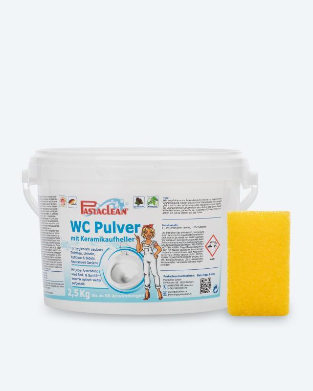 Pastaclean WC-Pulver Keramikaufheller, 2,5 kg