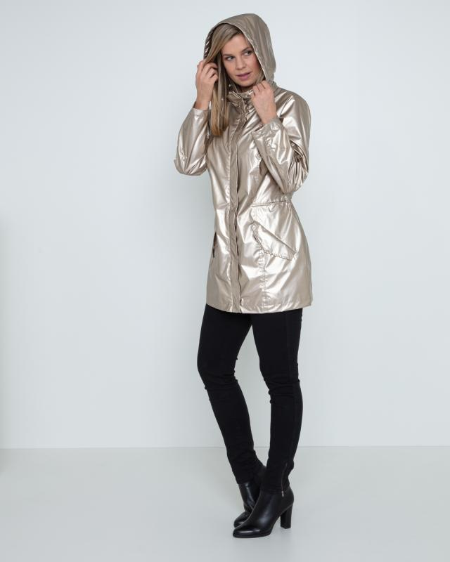 Judith Williams Metallic-Parka