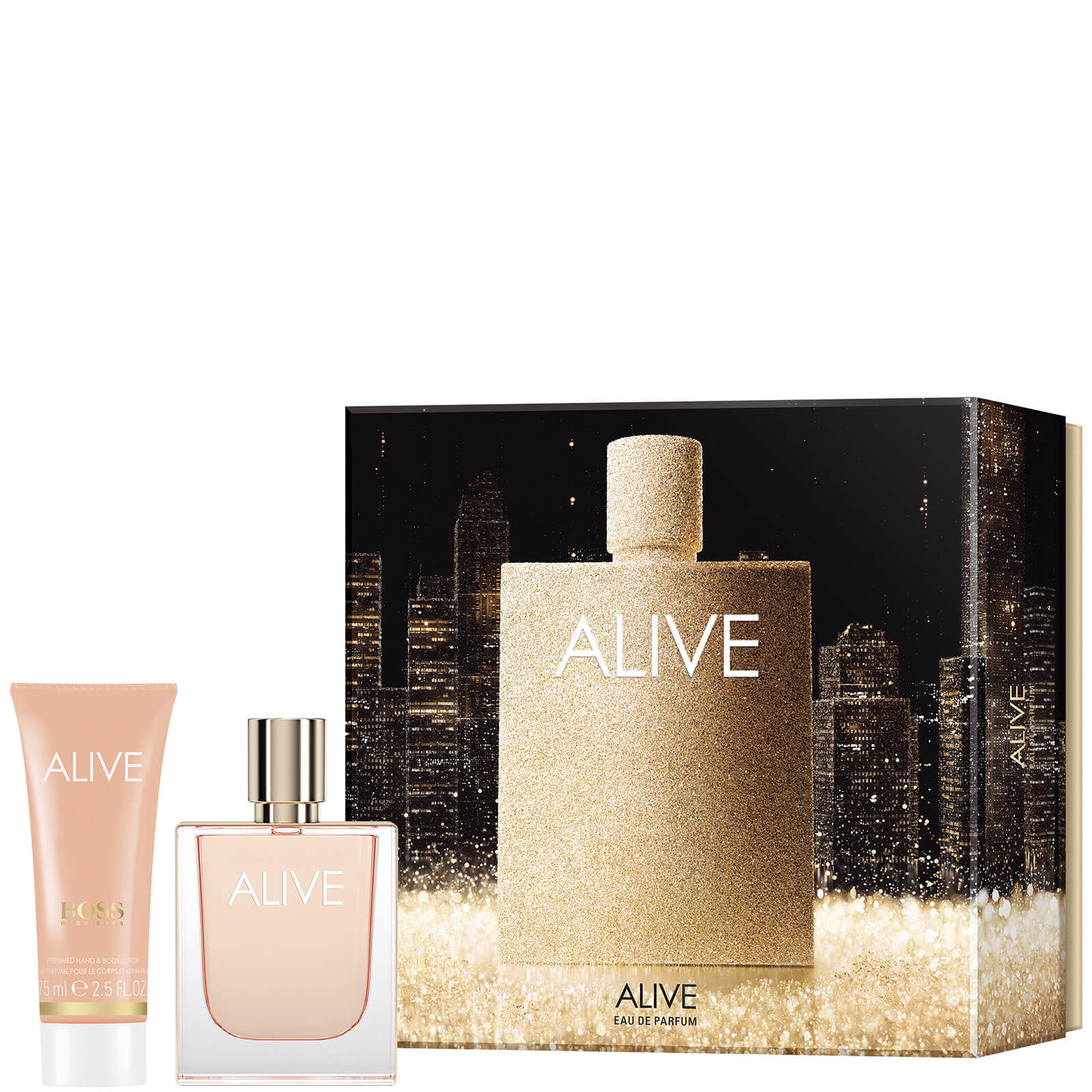 HUGO BOSS Alive for Her Eau de Parfum 50ml Gift Set