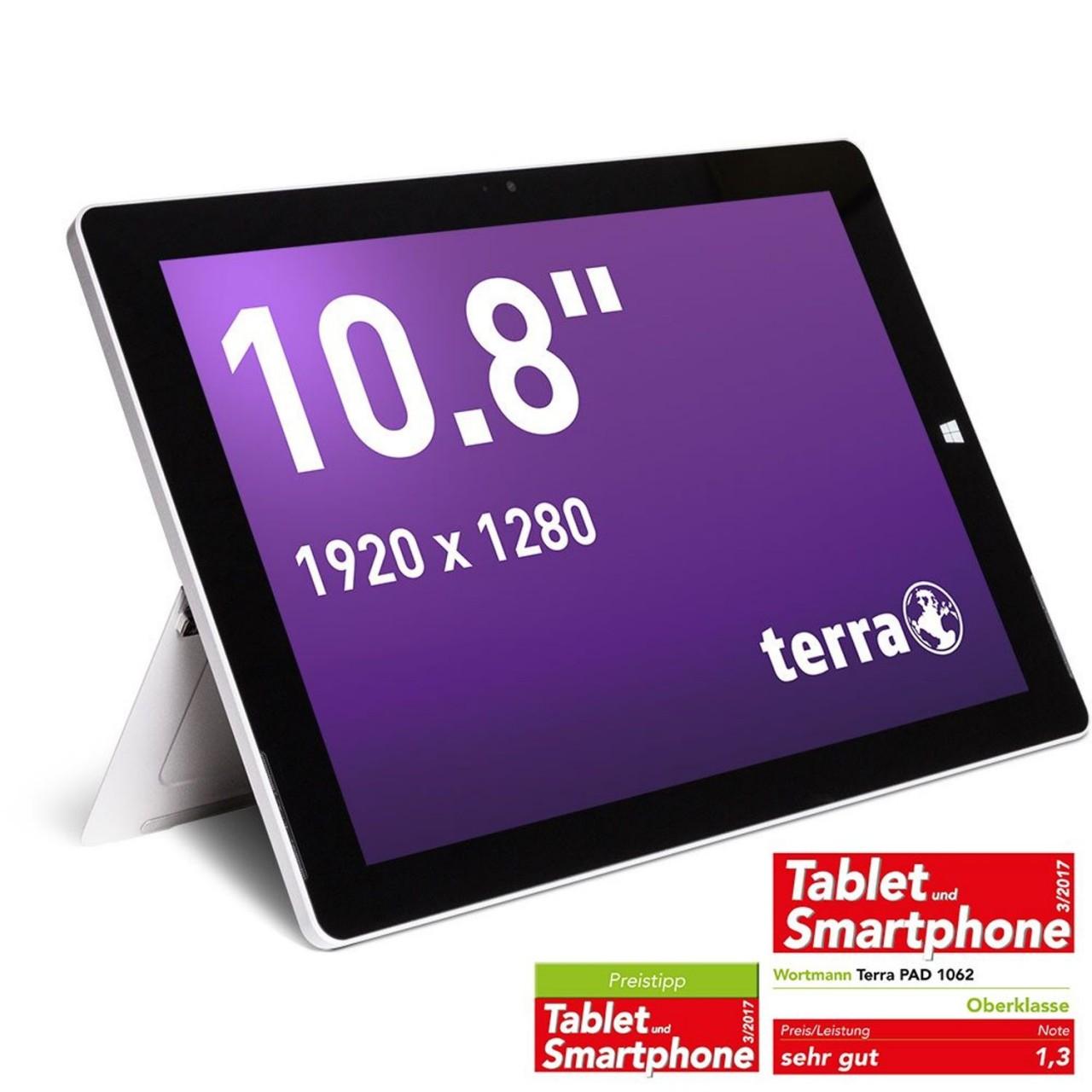 PAD 1062 x5-Z8350 W10 Home Tablet