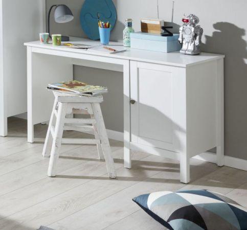 Kinder- / Jugendzimmer Schreibtisch Ole mit Unterschrank in weiß