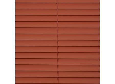 Jalousie aus Alu Aluminium-Jalousie Farbe:terracotta Länge:160 cm Breite:150 cm