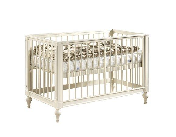 Babybett Juniorbett Kinderbett Gitterbett VOLLMASSIV NEU Baby Kind Bett FL-KA