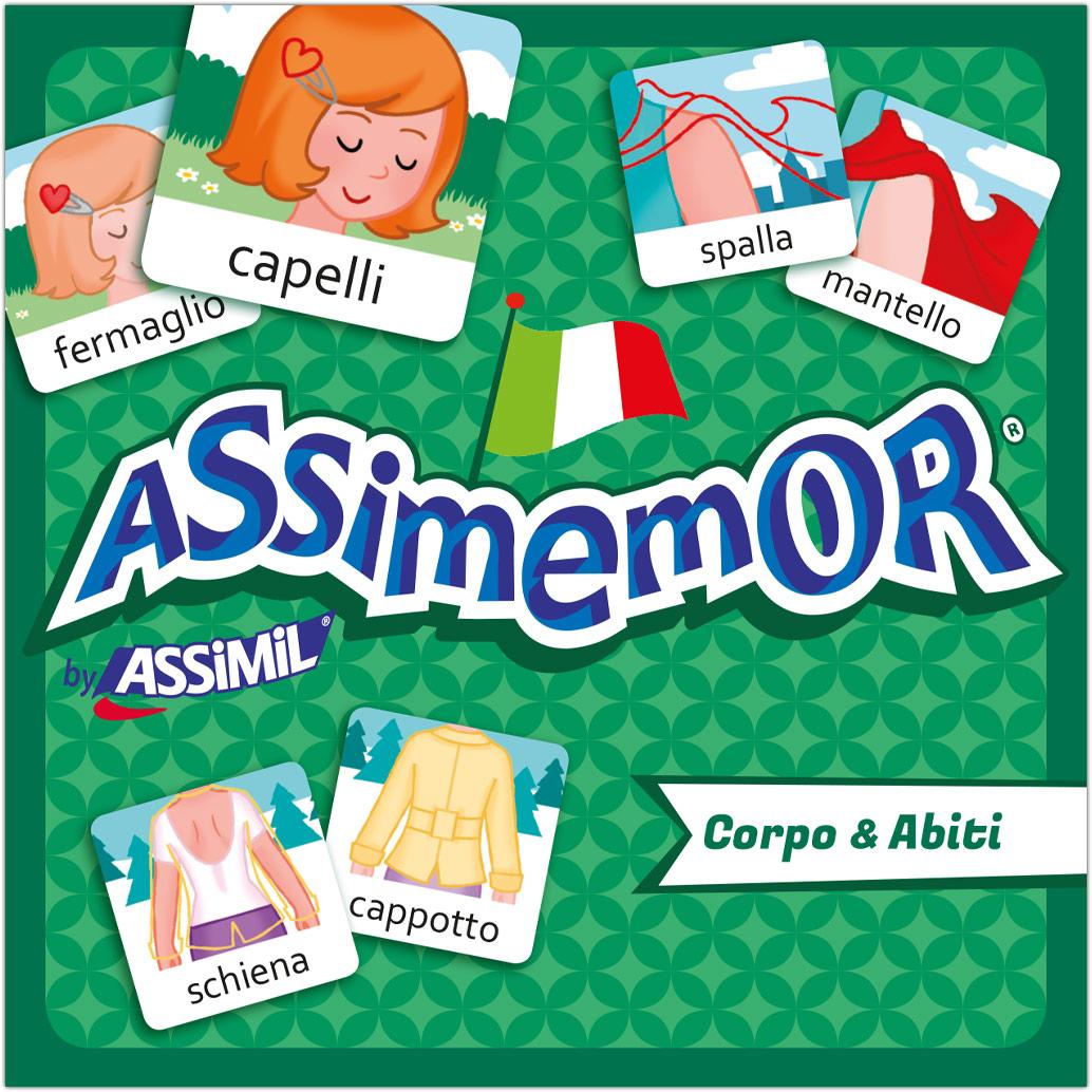 Assimemor, Corpo & Abiti - K�rper & Kleidung (Kinderspiel)
