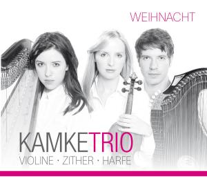Weihnacht,Violine-Zither-Harfe