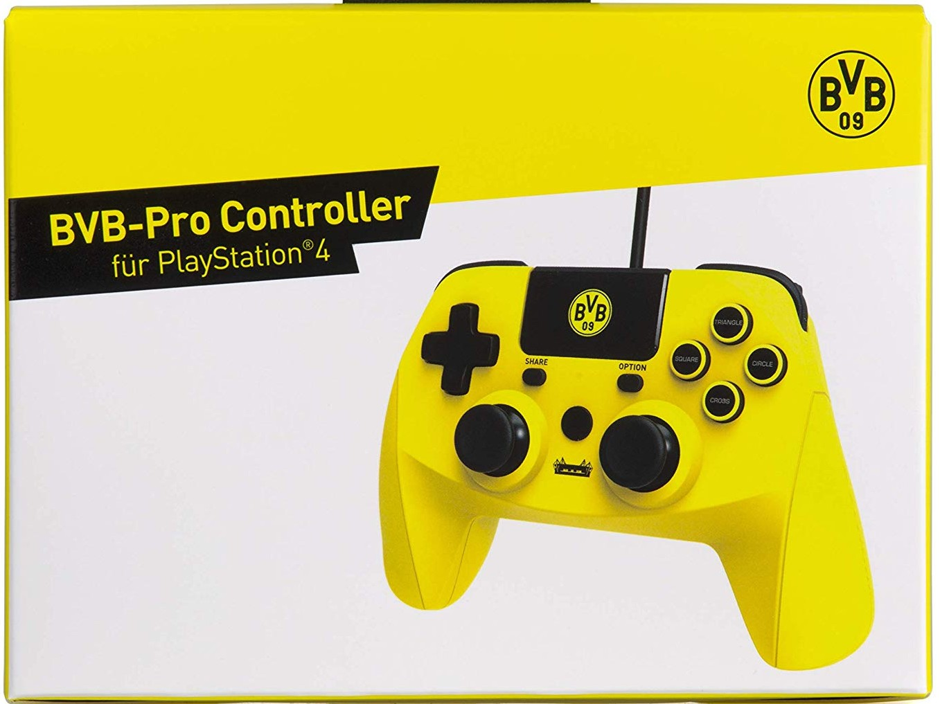 snakebyte bvb-pro controller für playstation 4, kabelgebunden