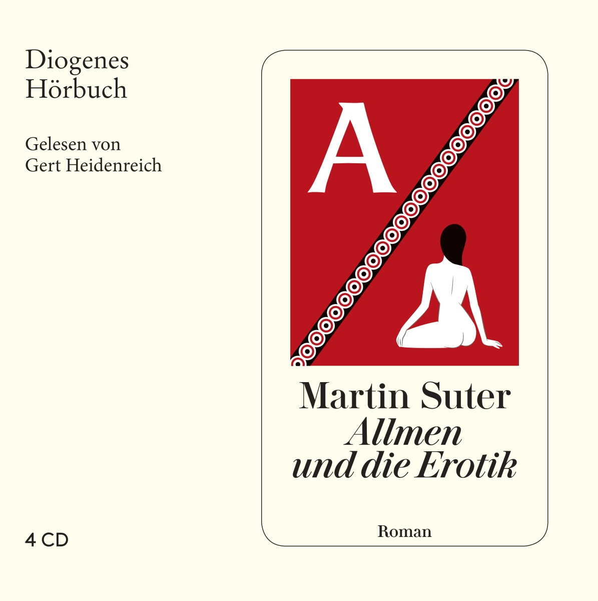 Allmen und die Erotik, 4 Audio-CDs