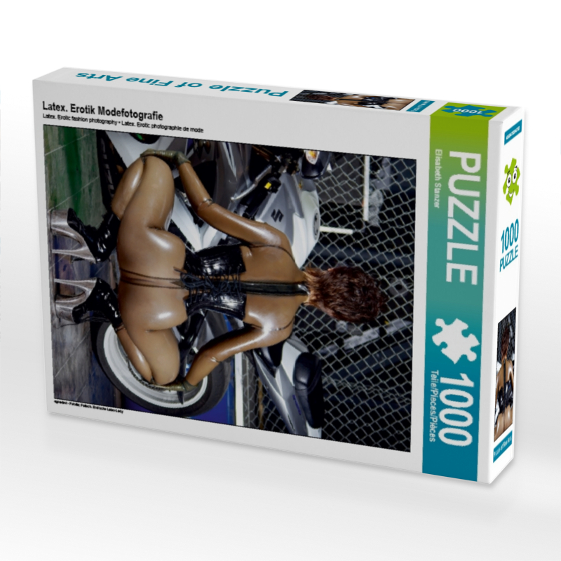 CALVENDO Puzzle Latex. Erotik Modefotografie 1000 Teile Lege-Gr��e 48 x 64 cm Foto-Puzzle Bild von Stanzer Elisabeth