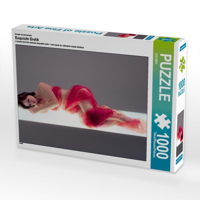 CALVENDO Puzzle Exquisite Erotik 1000 Teile Lege-Gr��e 64 x 48 cm Foto-Puzzle Bild von CALVENDO