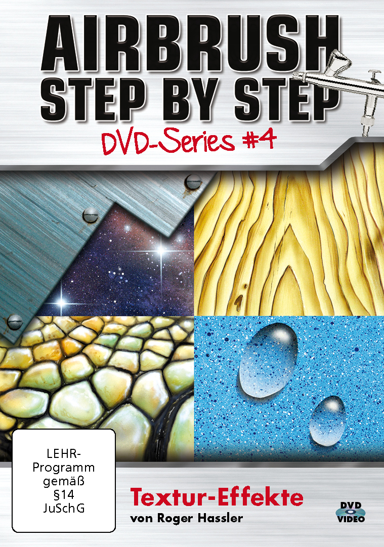 airbrush step by step dvd-series #4