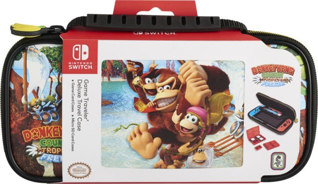 TRAVEL CASE Donkey Kong Country Tropical Freeze NNS52A f�r Nintendo Switch
