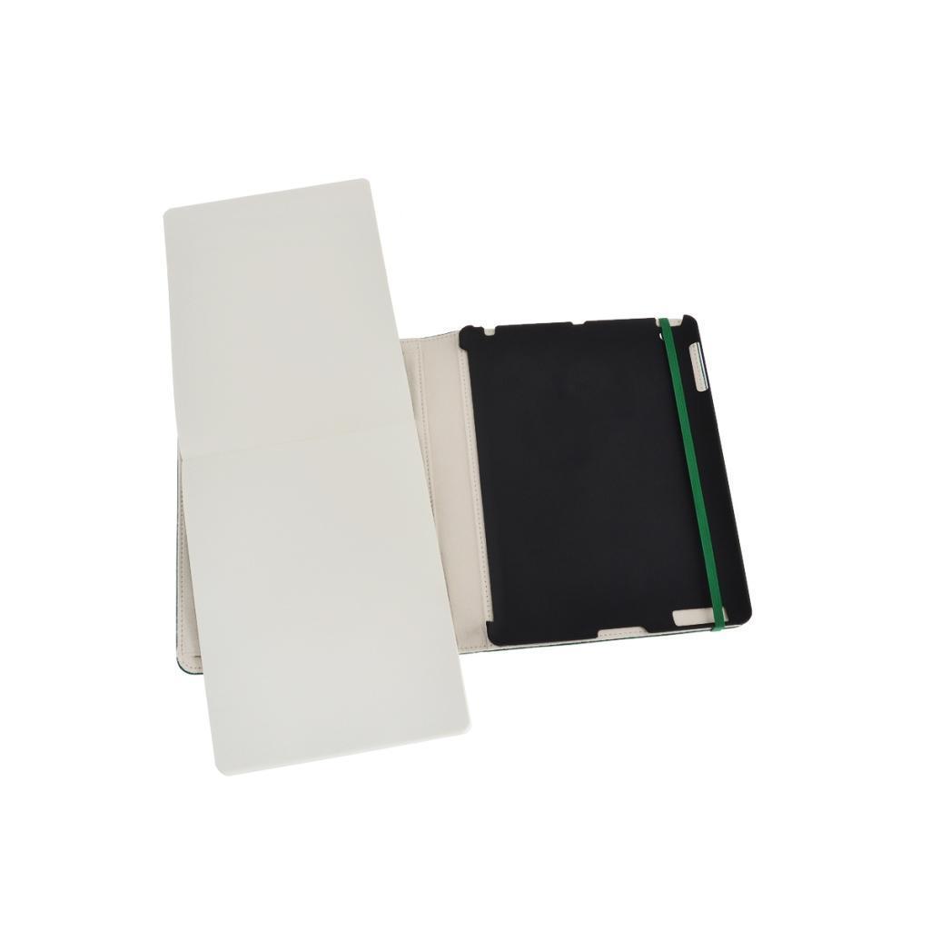 Moleskine Slim Cover iPad 3&4 oxydgr�n, mit Notizblock