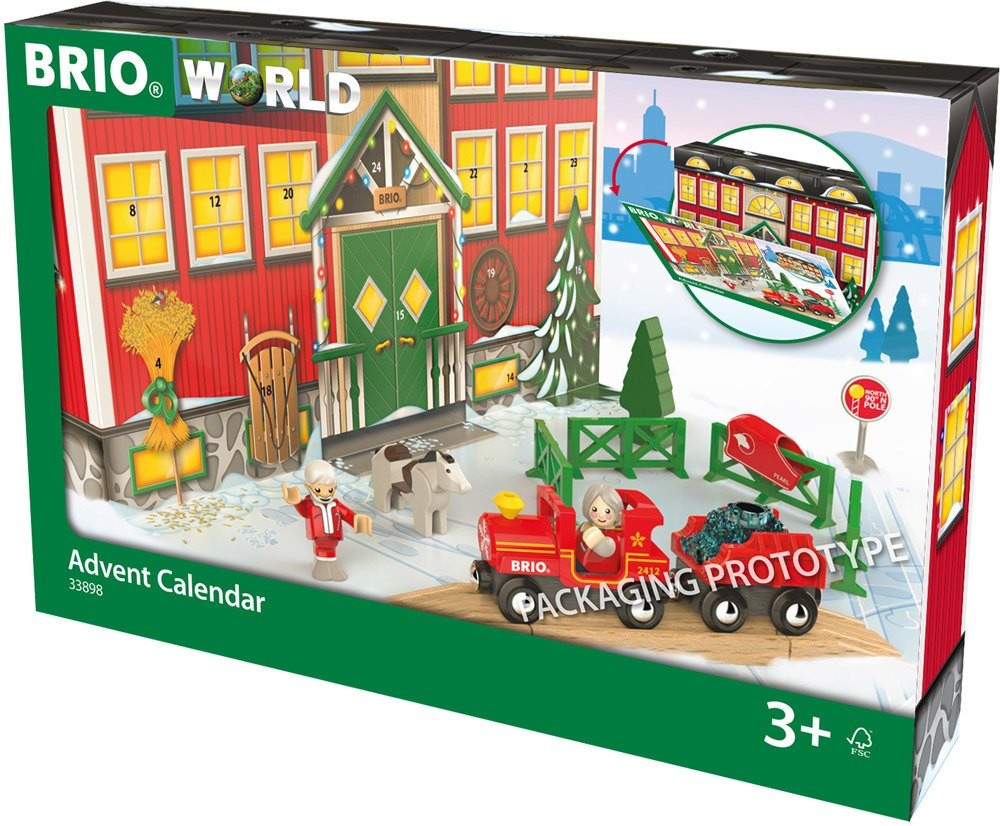 Brio 33898 - Brio World, Adventskalender 2018