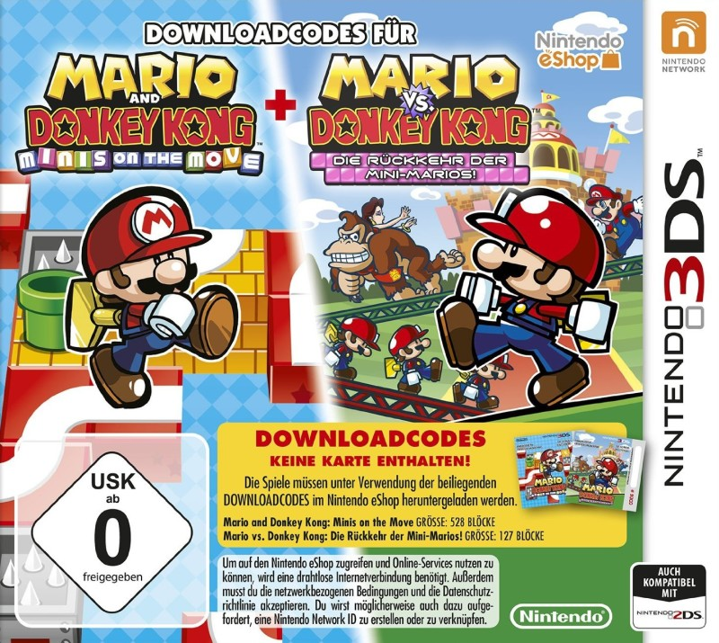 Mario and Donkey Kong: Minis on the Move PLUS Mario vs. Donkey Kong: Die R�ckkehr der Mini-Marios! (Code in der Box)