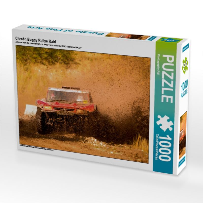 CALVENDO Puzzle Citro�n Buggy Rallye Raid 1000 Teile Lege-Gr��e 64 x 48 cm Foto-Puzzle Bild von PM Photography
