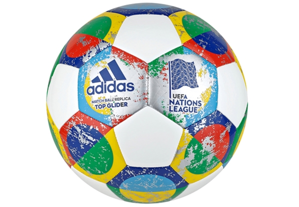 adidas UEFA Nat. League Ball, Gr. 5