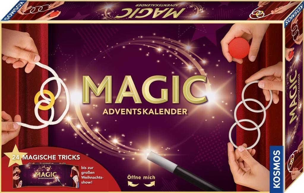 KOSMOS 698010 - MAGIC Adventskalender 2020, 24 magsiche Tricks