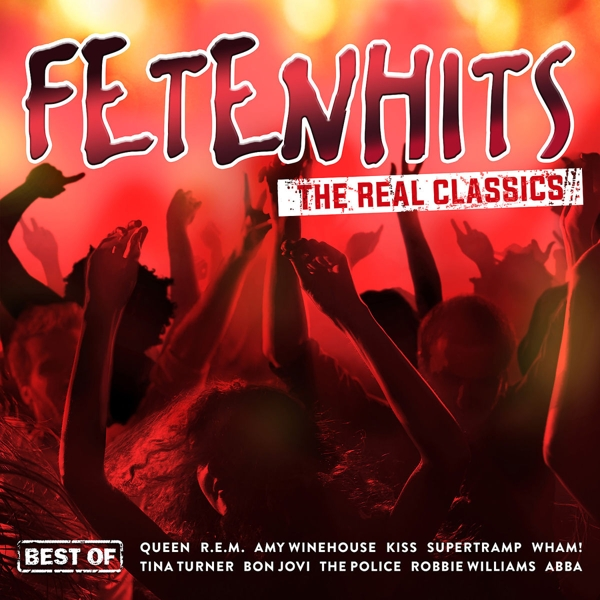 Fetenhits - The Real Classics (Best Of), 3 Audio-CDs