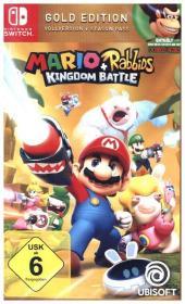 mario & rabbids kingdom battle, 1 nintendo switch-spiel (gold ed
