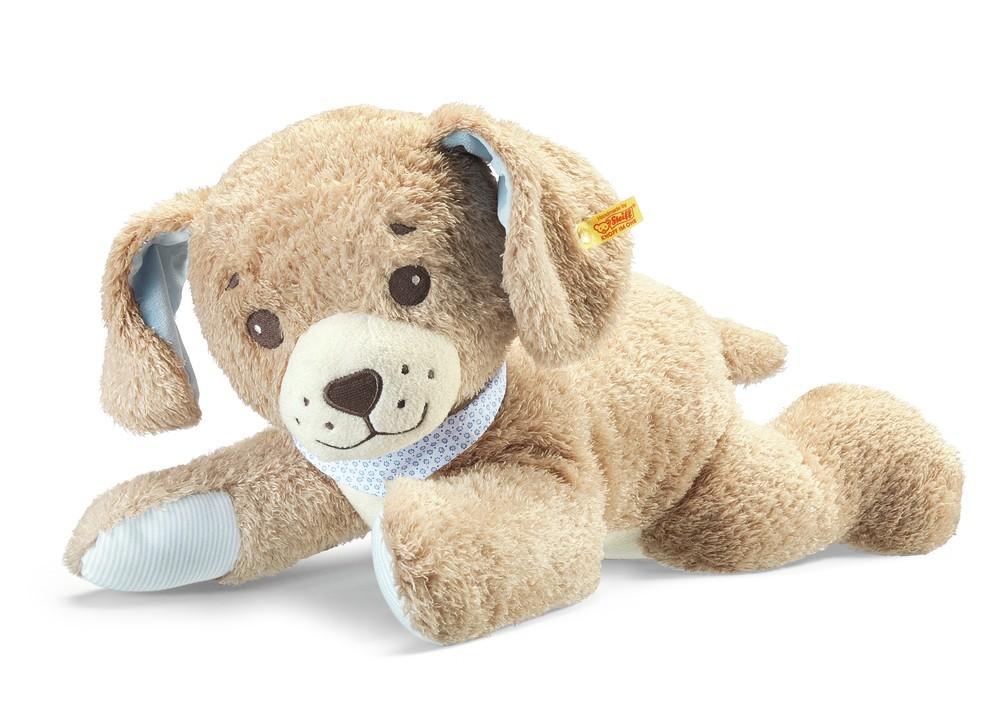 Steiff 239724 - Gute-Nacht-Hund, beige, 48 cm