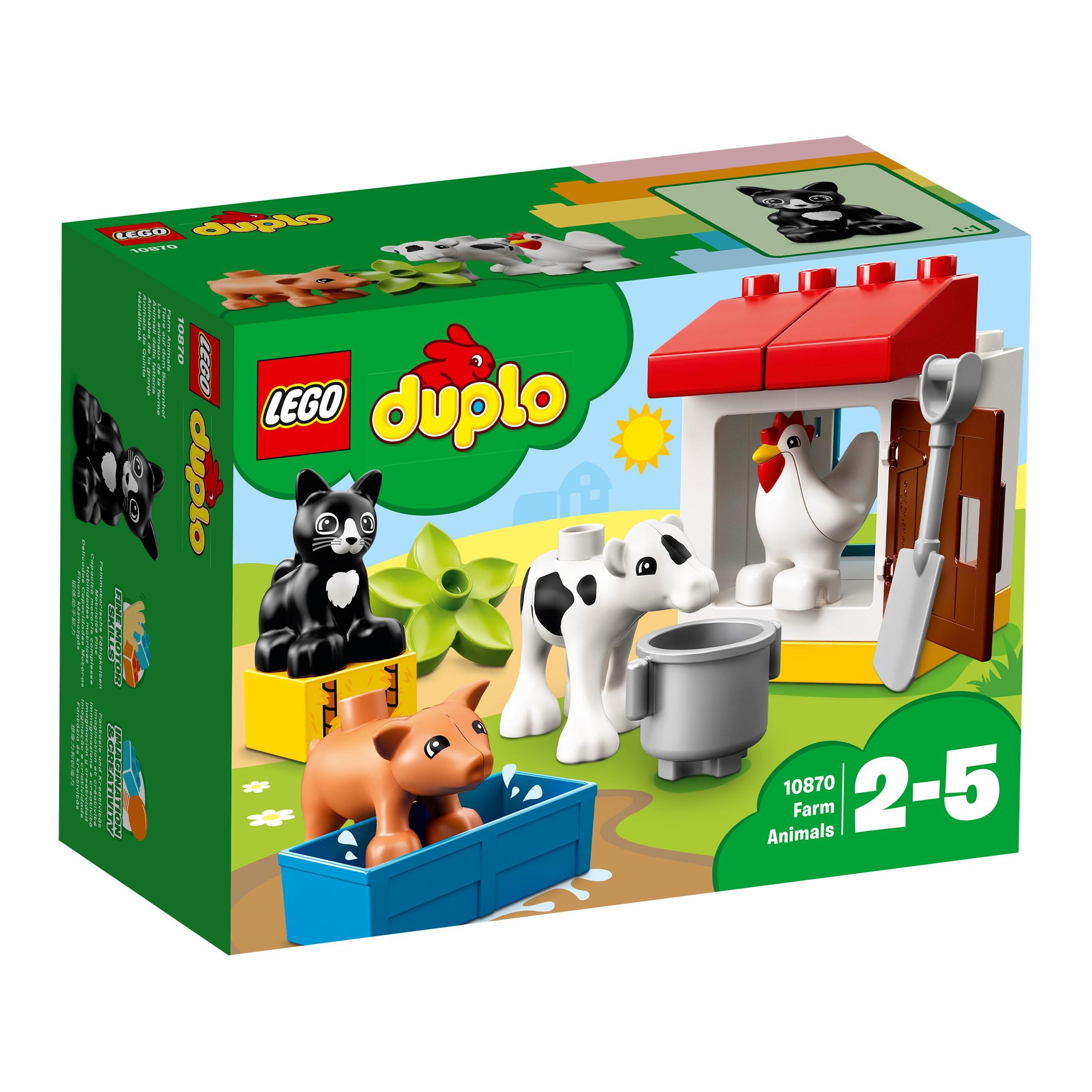 LEGO DUPLO Bauernhof 10870 Tiere auf dem Bauernhof