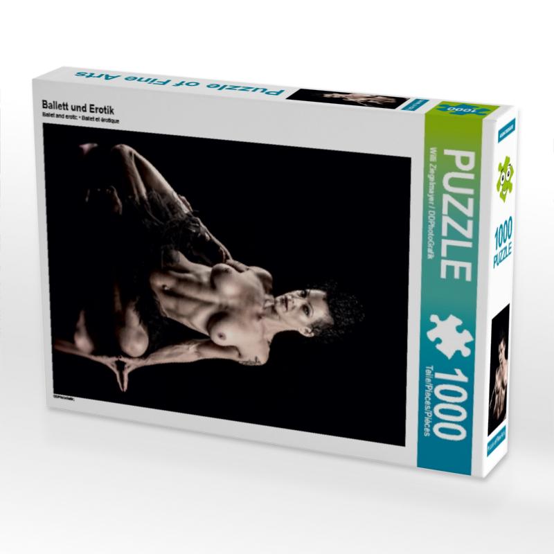 CALVENDO Puzzle Ballett und Erotik 1000 Teile Lege-Gr��e 48 x 64 cm Foto-Puzzle Bild von Ziegelmayer / DDPhotoGrafik Wi