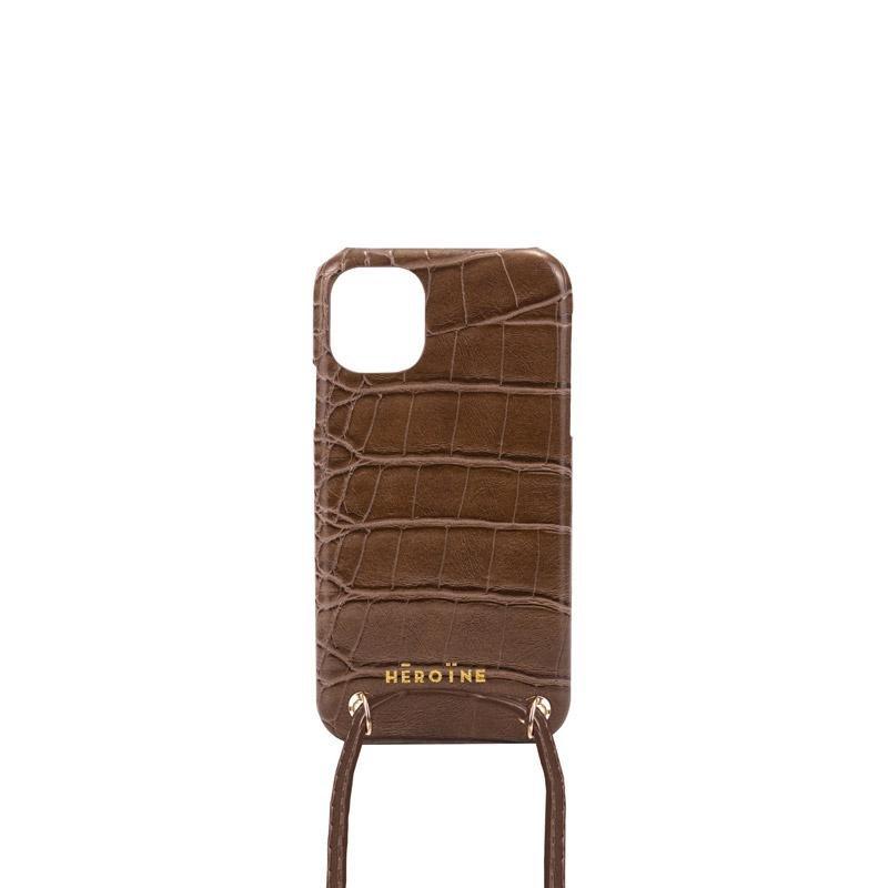 Handyhülle AVA iPhone 12 Lederimitat