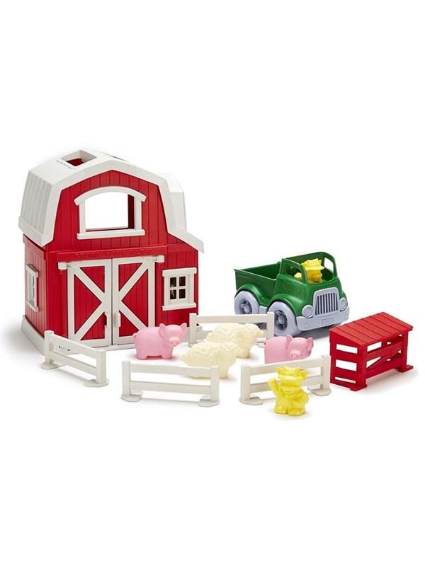 Green Toys Green Farm Toys