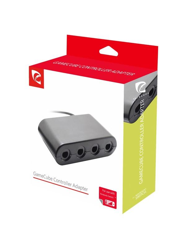 PIRANHA Gamecube Controller Adapter for Nintendo Switch - Zubehör - Nintendo Switch