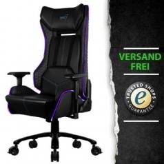 AeroCool Gaming Stuhl P7-GC1 AIR RGB schwarz