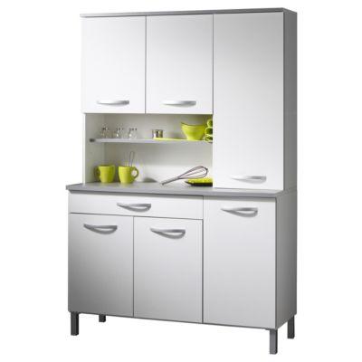 Parisot Buffet Anrichte Küche 'Season 22' Weiß weiß/grau