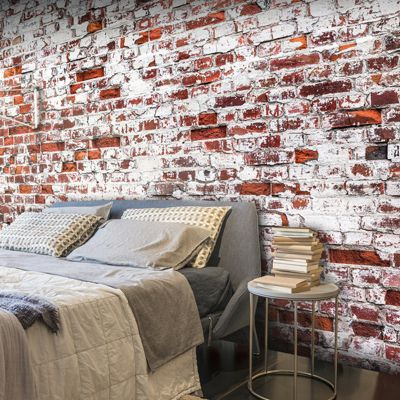artgeist Fototapete Her Highness The Brick mehrfarbig Gr. 300 x 210