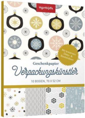 monbijou Geschenkpapier Verpackungskünstler - Weihnachten skandinavisch