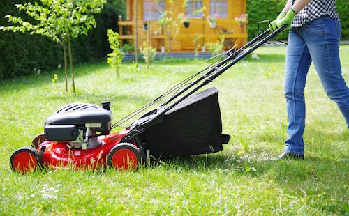 Rasenmäher auf Rechnung kaufen